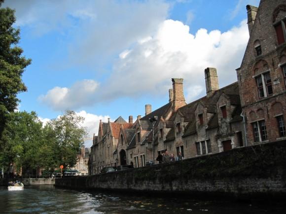 Bruges - Vista dai canali 19