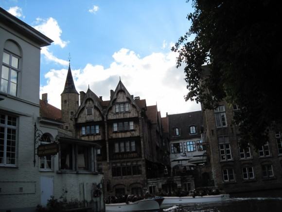 Bruges - Vista dai canali 24