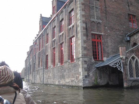 Bruges - Vista dai canali 4