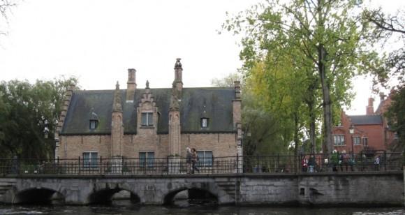 Bruges - Vista dai canali 8