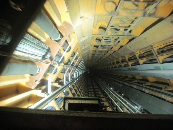 Atomium - Ascensore