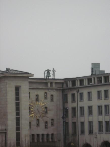 Orologio dei Giardini Mont des Arts