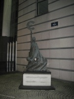 Parlamento Europeo - Statua Euro