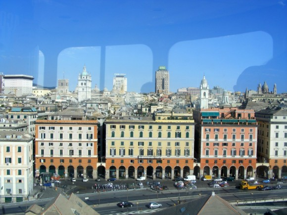 Genova - Vista da Ascensore Bigo 1