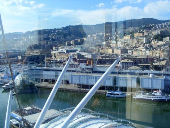 Genova - Vista da Ascensore Bigo 3
