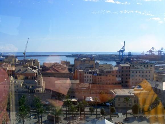 Genova - Vista da Ascensore Bigo 7