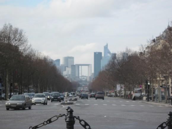 Parigi Finanziaria da Arco di Trionfo 2