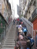 Mont Matre - Scala di accesso