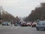 Place de la Concorde da Arco di Trionfo