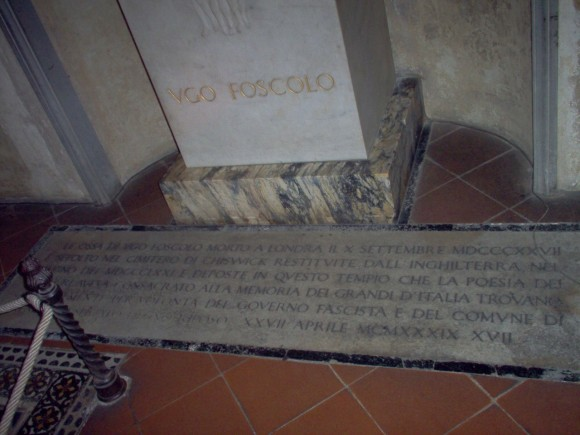 Tomba di Ugo Foscolo 2