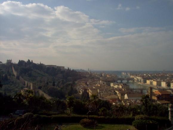 Vista di Firenze da San Miniato (Belvedere) 10