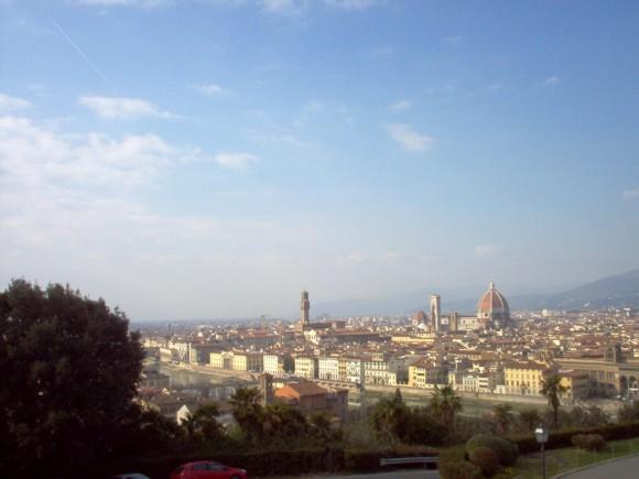 Vista di Firenze da San Miniato (Belvedere) 2