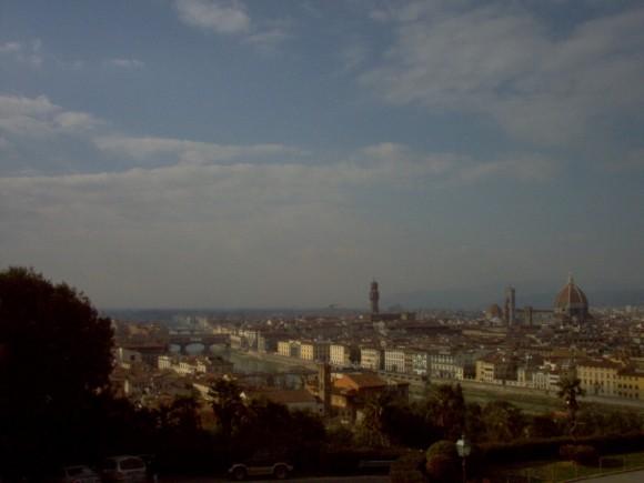 Vista di Firenze da San Miniato (Belvedere) 8