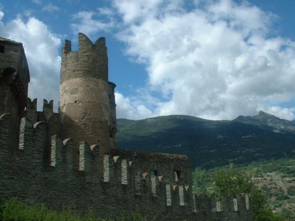 Valle d Aosta - Castello di Fenis 42