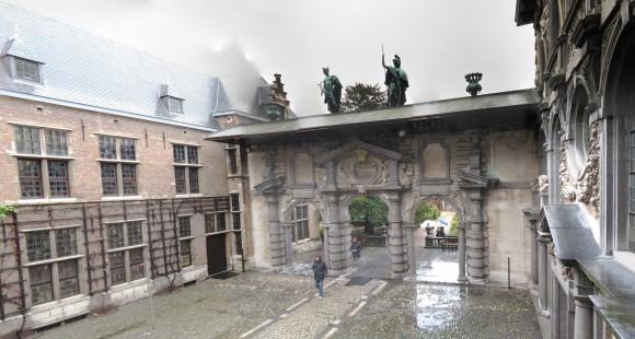 Anversa - Casa di Rubens - Portico 1