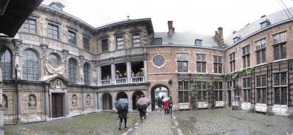 Amberes - Casa de Rubens - Portico  2