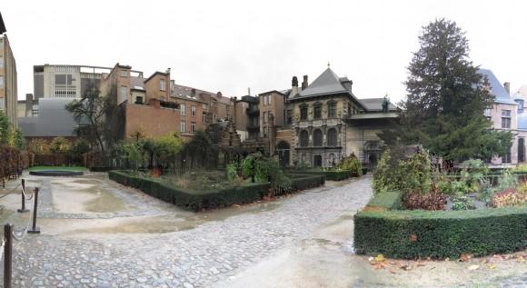 Antwerp - Rubens House - Garden