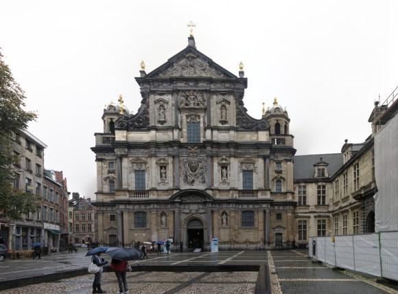 Amberes - Iglesia de Carlos Borromeo - Fachada