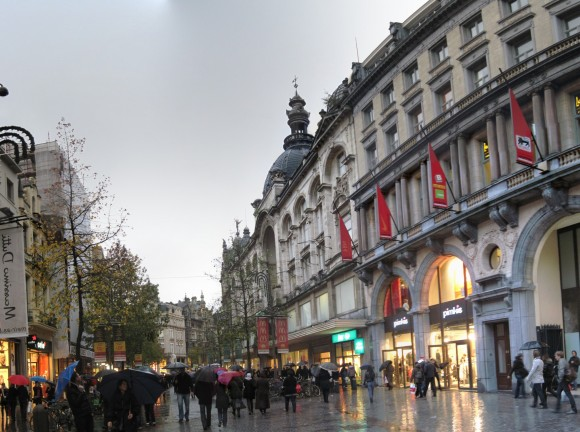 Anversa - Via Meir - Shopping