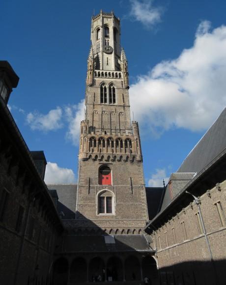 Bruges - Belfort internal (Markt Square)