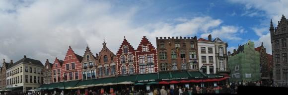 Bruges - Markt (lado norte)