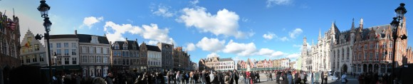 Bruges - Markt (vista da sud)