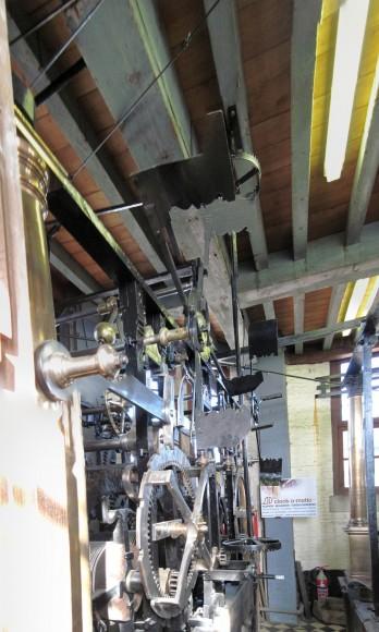 Bruges - Mecanismo del Relo Belfort