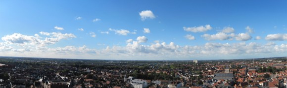 Bruges - Sight from Belfort 1
