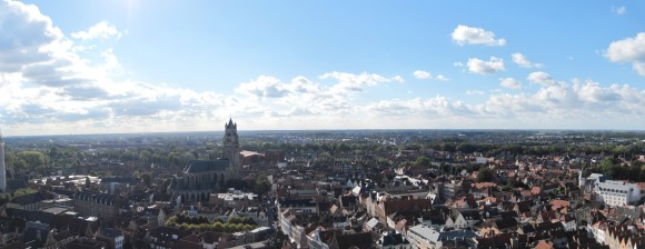Bruges - Sight from Belfort 3