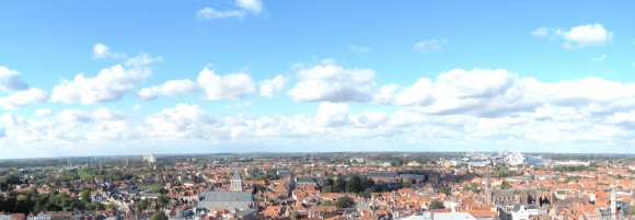 Bruges - Sight from Belfort 4