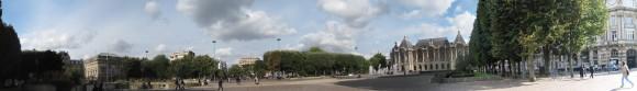 Lille - Beaux Arts square