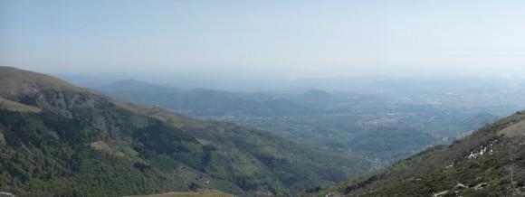 Vista di Biella da Oropa 2