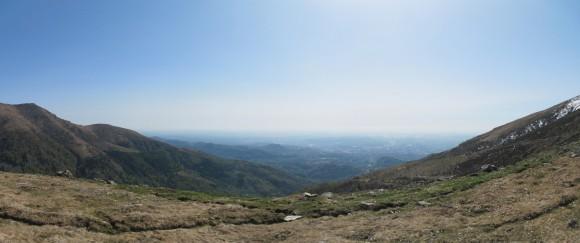 Vista di Biella da Oropa 3