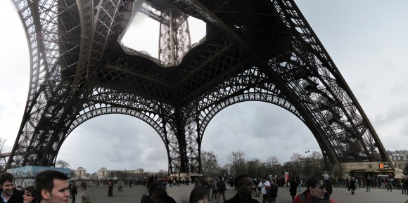 Torre Eiffel - Base