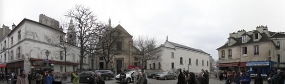 Montmartre - Piazzetta