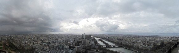12 - Paris from Eiffel Tower - Level 2 Sud-west