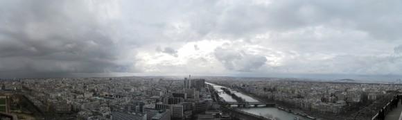 12 - Paris desde Torre Eiffel - Piso 2 Sur-oeste