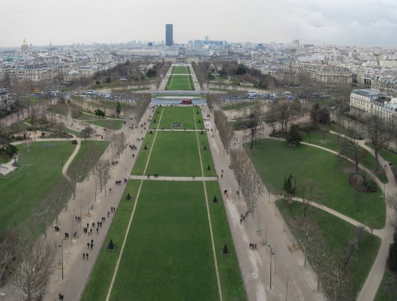 2 - Paris desde Torre Eiffel - Piso 1 - Parc du champs du mars