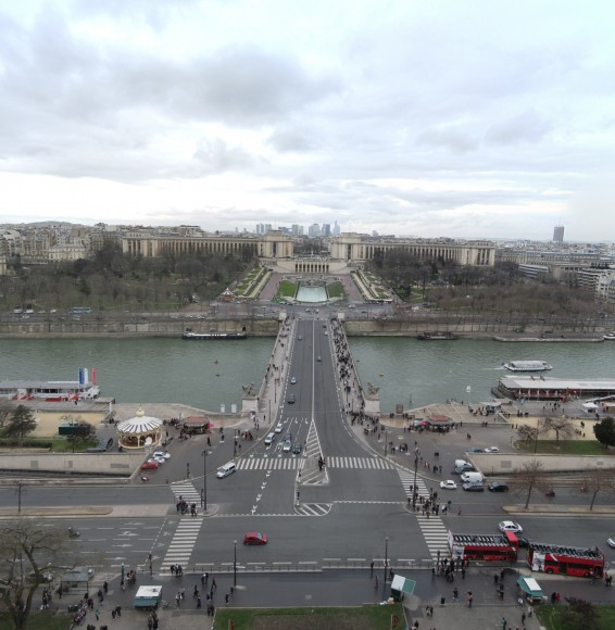 5 - Paris from Eiffel Tower - Level 1 - Palais de Chaillot