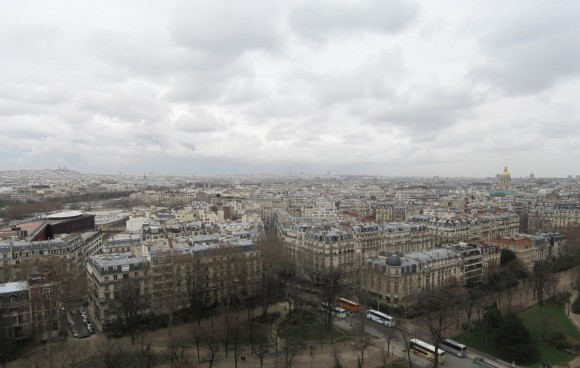 7 - Paris from Eiffel Tower - Level 1 east