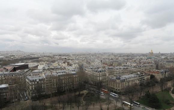 7 - Paris desde Torre Eiffel - Piso 1 este