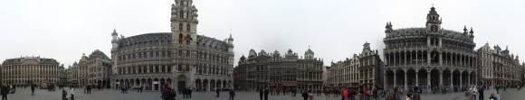 Grand Place - 360 gradi