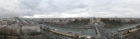 Parigi da Torre Eiffel - Piano 1 ovest