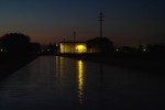 fiume di notte